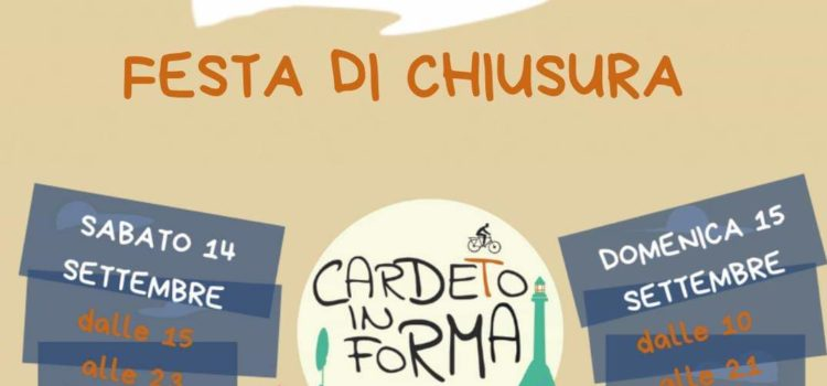 Cardeto in forma: festa di fine estate